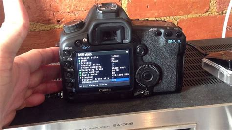Lifei 5d Ii Set canon 5d 2 magic lantern firmware how to set up on the 5d 2