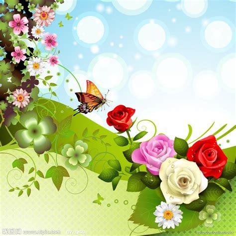 imagenes de flores y rosas the gallery for gt mariposas rosadas