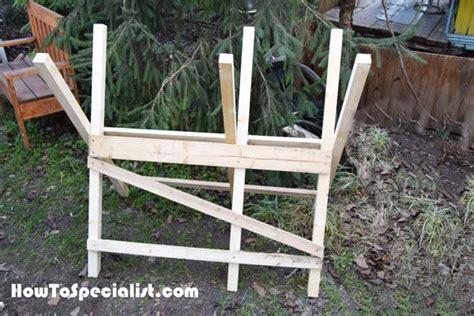 diy folding sawbuck woodworking desk plans diy