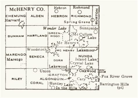 Mchenry County Il Search Mchenry County Illinois Maps And Gazetteers