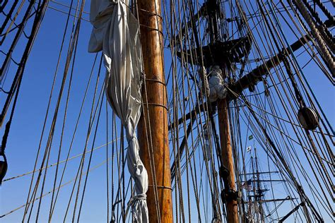ship rigging tall ship rigging lady washington photograph by garry gay