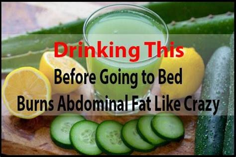 Detox Drink Before Bed by A Miracle Bedtime Calorie Burning Drink You Should Try