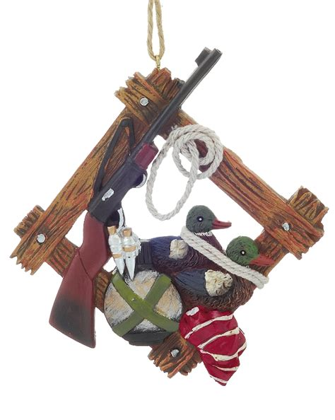 duck hunter christmas ornament activities and hobbies