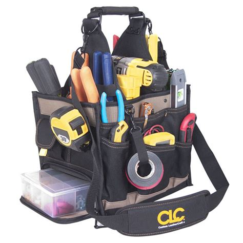 Electrical And Maintenance Tool Carrier Work Gear Pocket Tool Pouch custom leathercraft 1528 23 pocket large electrical and maintenance tool carrier tool bags