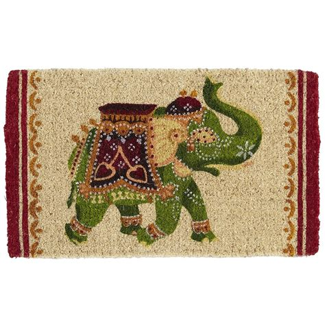 Elephant Indoor Rug by Elephant Outdoor Rug Tribal Elephant Indoor Outdoor Rug