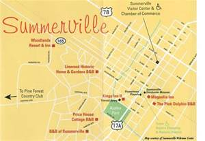 carolina attractions map summerville south carolina tourist map summerville south