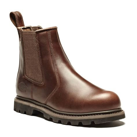 Sepatu Murah Timberland Stallion High Safety Boots dickies goodyear welted fife smooth brown leather safety dealer boots