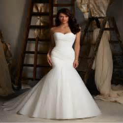 cheap wedding dresses mermaid style sale floor length pleat cheap wedding dresses tulle