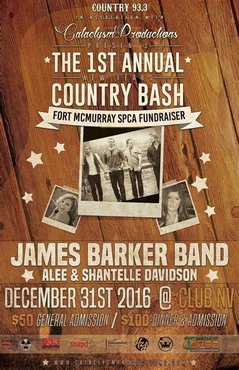 spca country new years eve bash tickets in fort mcmurray