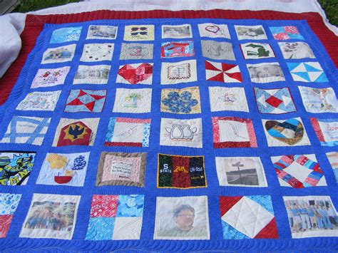 Wedding Memory Quilt by Wedding Memory Quilt Semi Custom Quilted