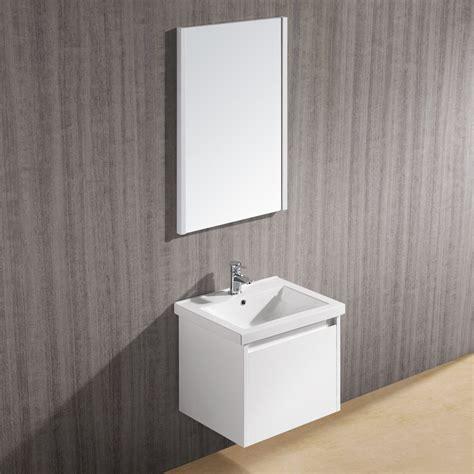 vigo bathroom vanity vigo 23 quot bianca single bathroom vanity with mirror