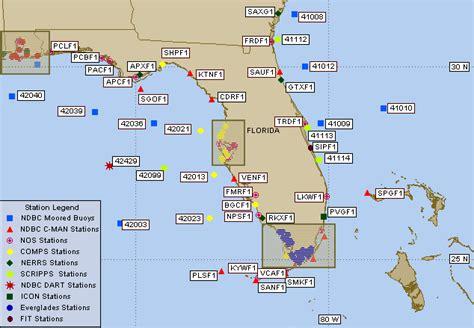 ndbc florida  eastern gulf  mexico  marine data