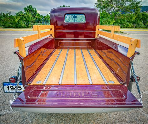 wearing tons to bed 1945 dodge half ton pickup truck classic car photography by william horton