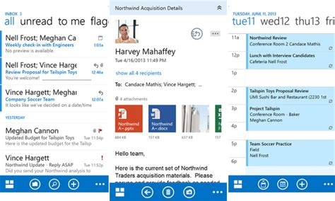 owa for android microsoft releases outlook web apps for iphone