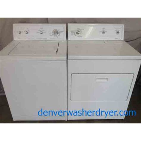 kenmore washer 80 series kenmore 80 series washer dryer set 2085 denver