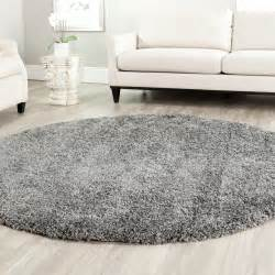 power loomed solid grey shag area rug 4 ebay
