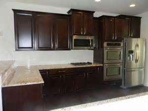 Scottsdale Kitchen Cabinets Ballentine Gourmet Kitchen Timberlake Scottsdale Cherry Java Cabinets Giallo Ornamental