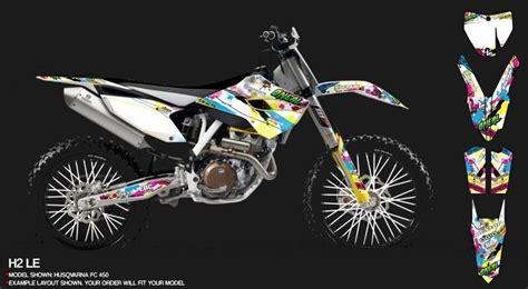 Husqvarna 610 Dekor by Husqvarna Dekore Mx Kingz Motocross Shop