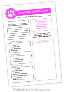 Grooming Record Card Template by Editable Printable Pet Grooming Templates