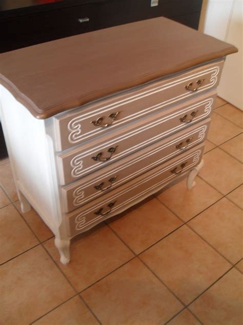 attrayant meuble taupe et beige 12 commode bois