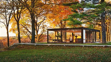 the glass house all the ideas philip johnson stole for his iconic glass house co design