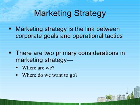 Strategic Management Ppt Slides Mba Students by Marketing Strategy Mba Ppt