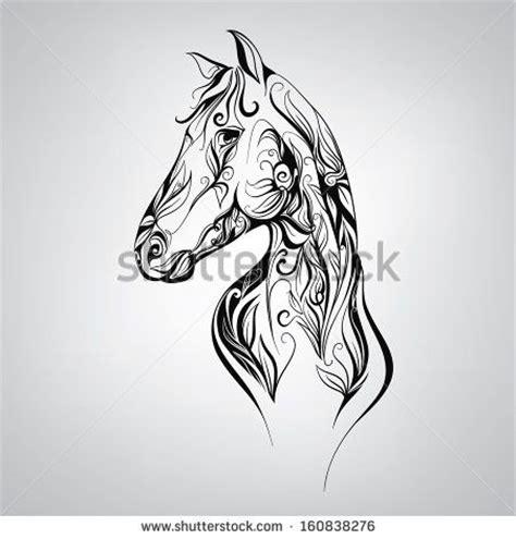 tattoo tribal cheval les 25 meilleures id 233 es concernant tatouages de chevaux