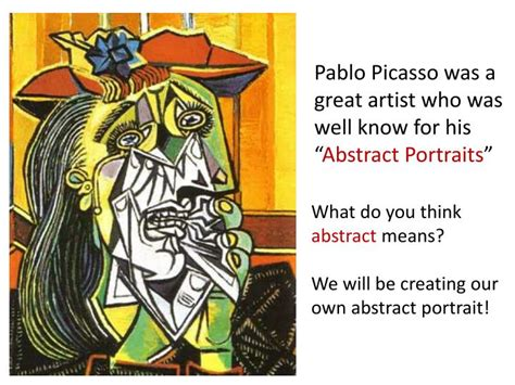 picasso paintings ppt ppt pablo picasso s portraits powerpoint presentation