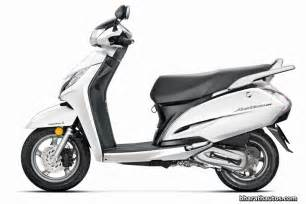 Brake System In Scooty 2014 Auto Expo New Honda Activa 125 With Disc Brake Unveiled