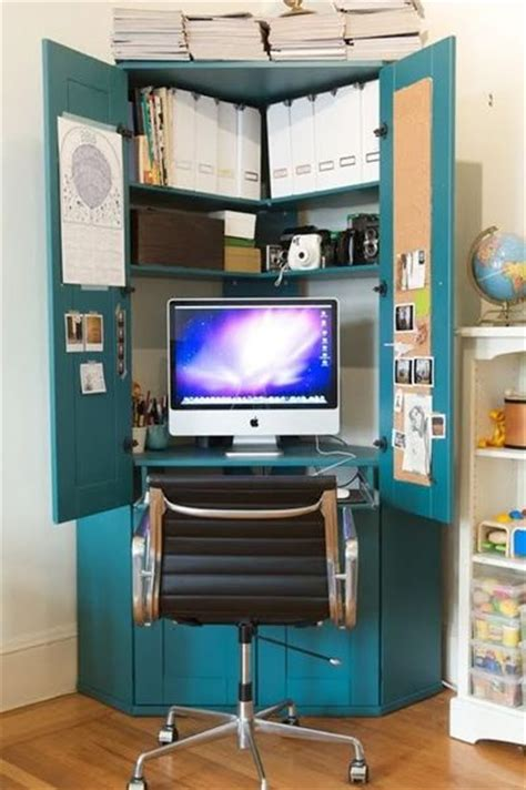 computer armoire ikea great for small spaces like mine