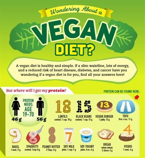 wondering about a vegan diet infographic