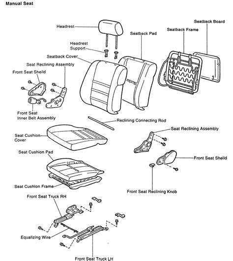 service manuals schematics 2003 toyota 4runner seat position control repair guides interior seats autozone com