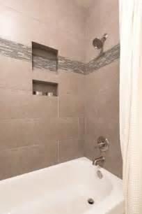 bathtub shower tile 12 x 24 tile on bathtub shower surround bathroom guest