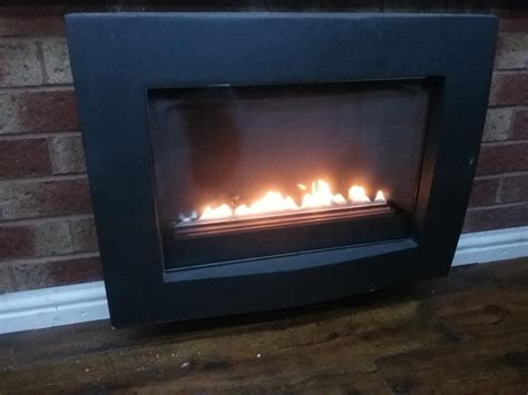 hang on wall fireplace gas flueless hang on wall bloxwich dudley
