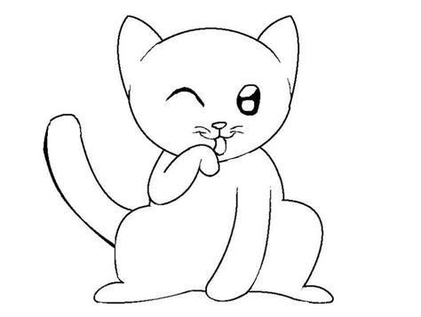 imagenes de gatitos faciles para dibujar los mas bellos dibujos gatitos tiernos animados dibujos