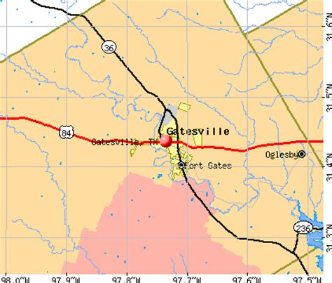 map of gatesville texas gatesville texas tx profile population maps real estate averages homes statistics