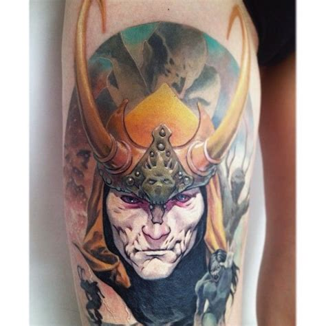 blood brothers tattoo loki bloodbrothersloki thor loki blood brothers
