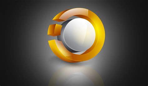 Illustrator Tutorial | 3D Logo Design (Glossy) - YouTube Y Logo 3d