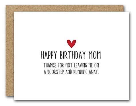 printable birthday cards mom funny printable mom birthday card funny mom card instant download
