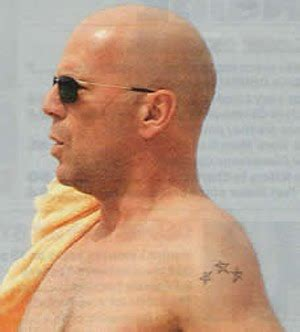 bruce willis tattoos bruce willis tattoos gallery