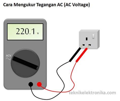 Voltmeter Volt Meter Arus Ac Merk Heles Cara Menggunakan Multimeter Multitester Listrikypt