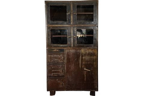 industrial metal storage cabinets vintage industrial metal storage cabinet omero home