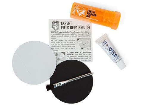 How To Repair Air Mattress Seam by Gear Aid Seam Grip Field Repair Kit Pack Gear Go