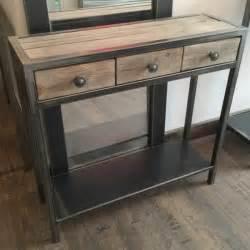 console design console meuble meuble metal console m 233 tal