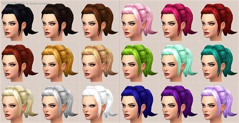 sims 3 custom hir color mod the sims rockabilly hair new mesh