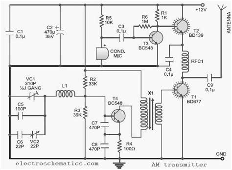 u310 transistor datasheet 10 to 15 mhz am transmitter circuit