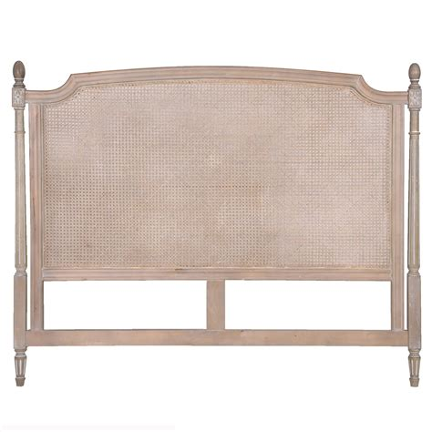 Wicker Headboard by Upholstered And Headboards Bedroom Company