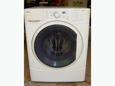 Kenmore Pedestal Kenmore He2 Front Load Washer And Pedestal Drawer West