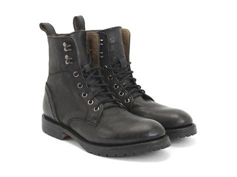 fluevog boots fluevog shoes shop black casual lace up boot