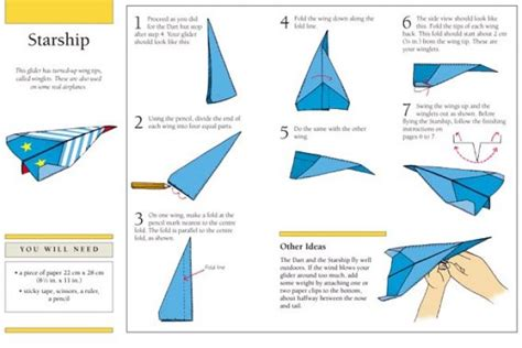 How To Make A Paper Plane Step By Step - paper airplane origami folding with step